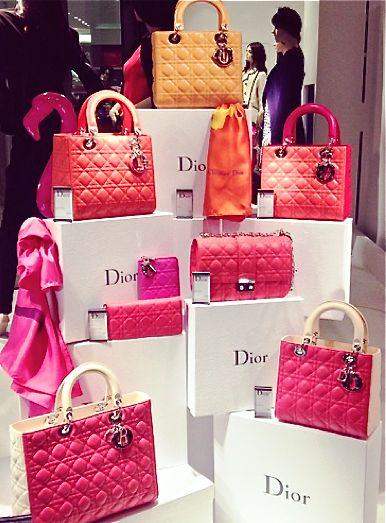 """Dior - """"Designer Bags"""" #Luxurydotcom                                                                                                                                                                                 More"""