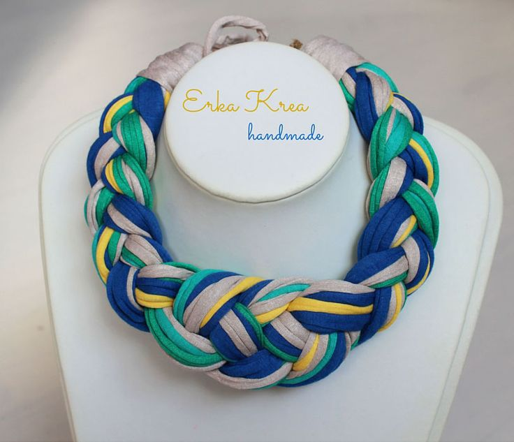 fabric jewellery  erkakrea.blogspot.com