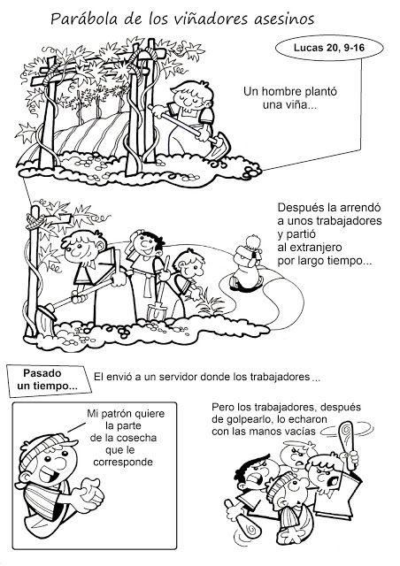 El Rincón de las Melli: HISTORIETA: Parábola de los viñadores asesinos (te...