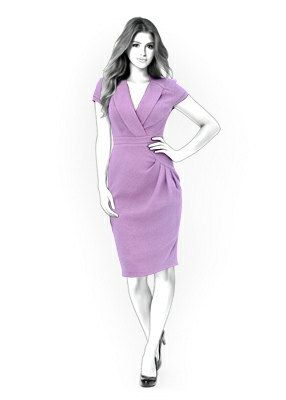 4275 PDF Dress Sewing Pattern  Women Clothes by TipTopFit on Etsy, $2.49