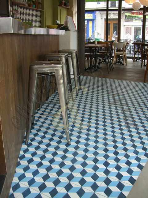 147 beste afbeeldingen van cement tiles customer photo 39 s - Credence keuken tegel cement ...