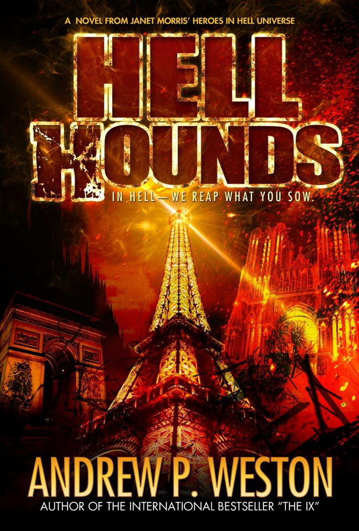 Title: Hell Hounds Author: Andrew P. Weston Genre: Dark Fantasy Publisher: Perseid Press   Book Blurb: Feared throughout the many circles of the underworld, Satan's Reaper – and chief bounty…
