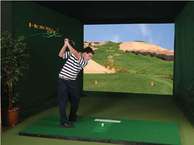 Indoor Golf Simulators. Because Fresh Air And Vitamin D Are Clearly  Overrated, And Really