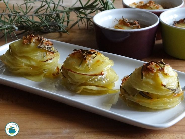 Millefoglie di patate al Castelmagno