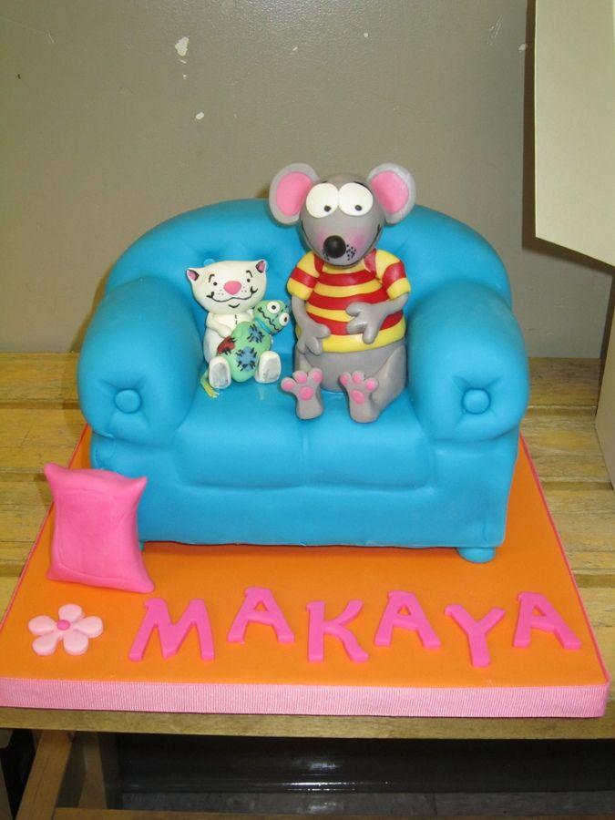 Toopy & Binoo Cake