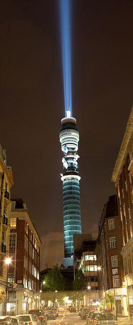 BT Tower - Light Sabre | Flickr - Photo Sharing!