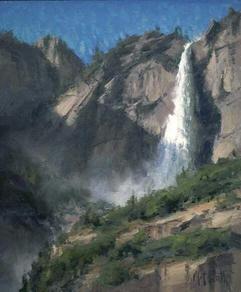 Matt Smith, Yosemite, 12x10