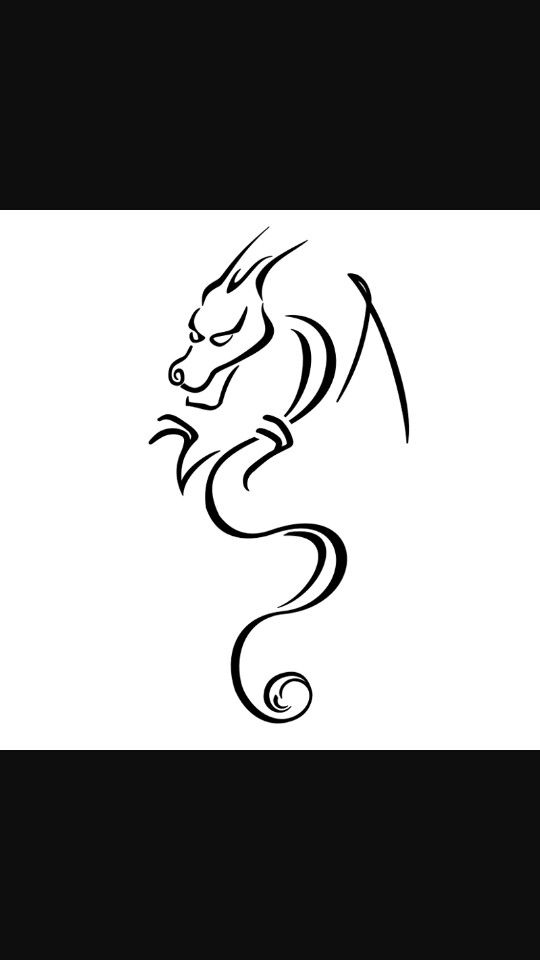 1000 images about dragon tattoo on pinterest tribal