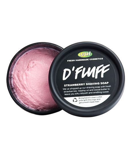 D'Flufff - smells like strawberry milkshake and makes your legs feel RULL SMOOVE - by Lush Cosmetics