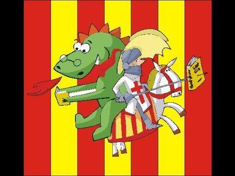 LLEGENDA DE SANT JORDI I EL DRAC (Conte animat amb so)