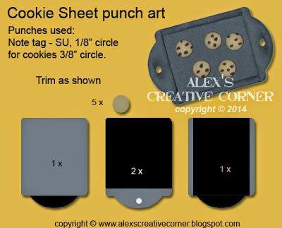 Alexs Creative Corner Sweet Treat Stampin Up Cookie Sheet