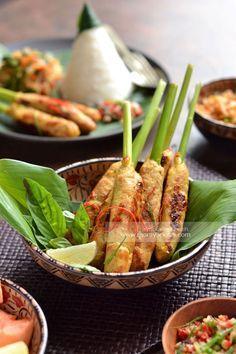 Sate Lilit Bali [ Sate Lilit Ayam ]