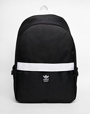 adidas Originals Backpack with Contrast Zip