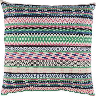 Multicoloured Cushion 50cm X 50cm