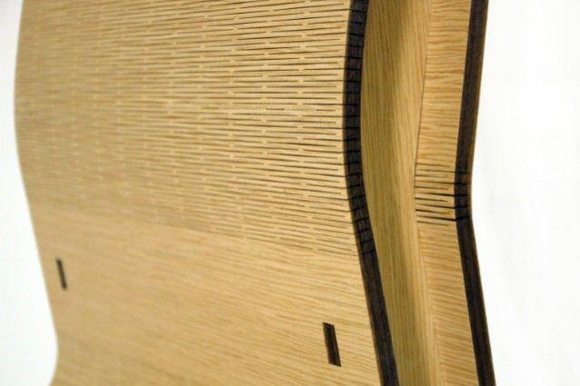 La sostenibile leggerezza del legno con la sedia Matrix
