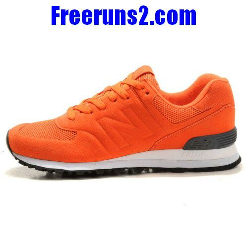 48099e3c153ce New Balance MS574DGO Sonic Orange Gris Chaussures Hommes   Balance    Pinterest   Nb shoes, Orange grey and Gray