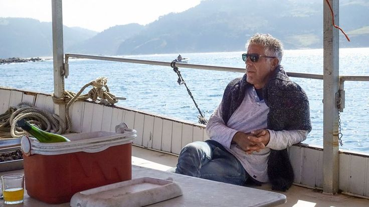 #goodfood Anthony Bourdain Eats His Way Through San Sebastián This Sunday on 'Parts Unknown' #foodie