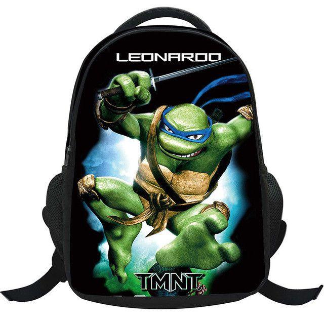 TMNT Teenage Mutant Ninja turtles Backpack school bag youth