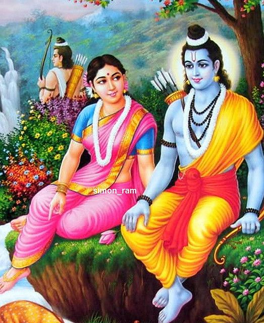 Ram and Sita by hinduism, via Flickr