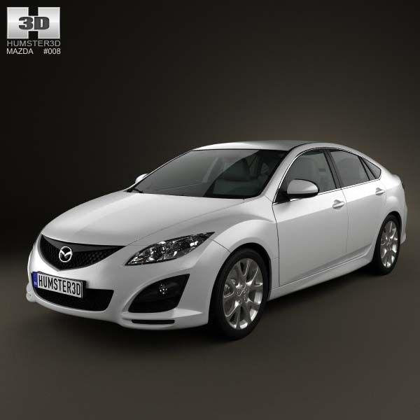 Mazda 6 Sedan 2011 3d Model From Humster3d Price 75