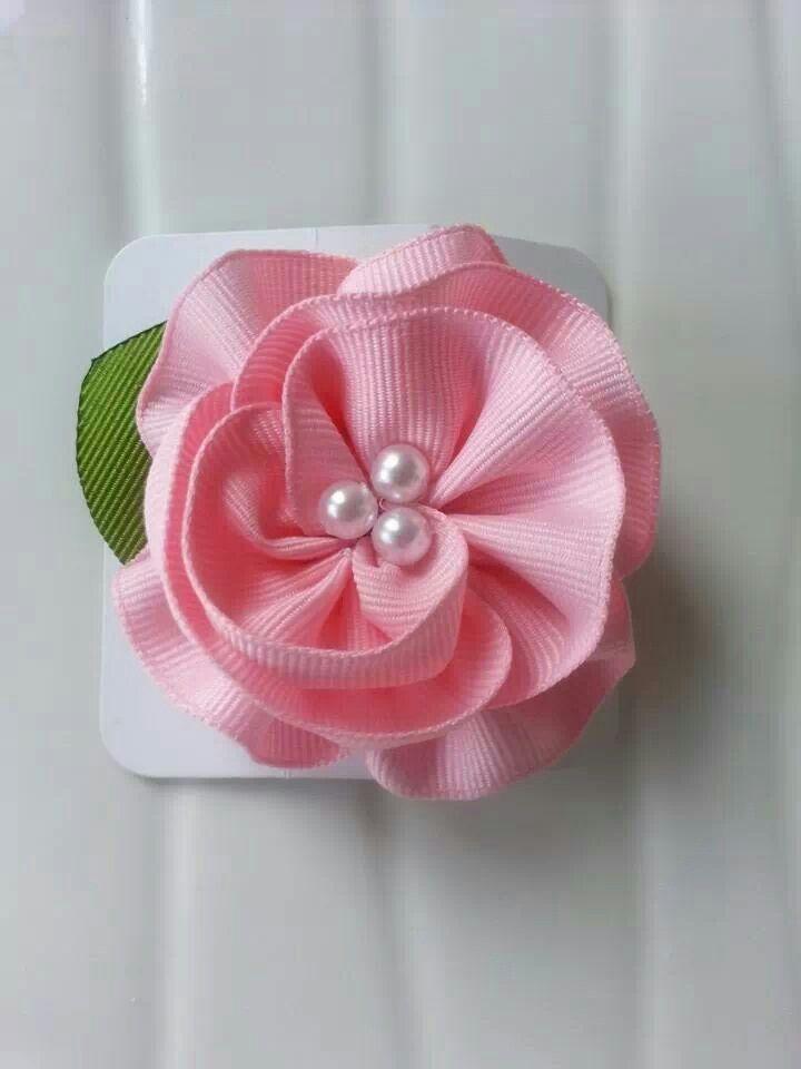 Flower hair clip https://www.facebook.com/pages/Bettys-Bowtique/152682898198406?ref=hl