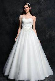 Floretta White tüll esküvői ruha