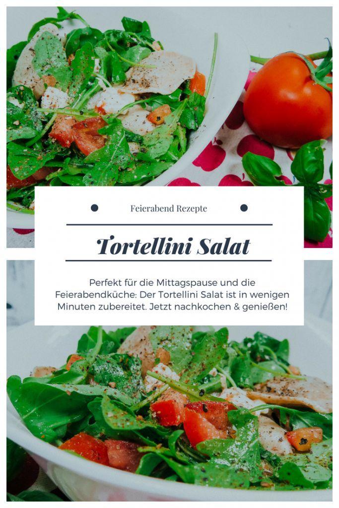 Tortellini Salat Rezept All About Food Rezeptideen Deutscher