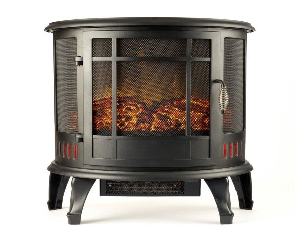 Best Space heater no. 3. Regal Electric Fireplace. The synthesized flame is so realistic that it gives you the feeling of sitting in front of a traditional fireplace.