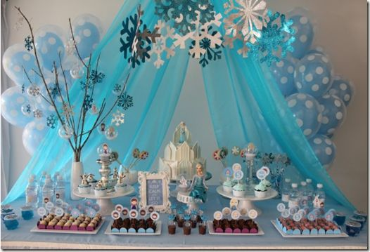mesa-festa-infantil-frozen