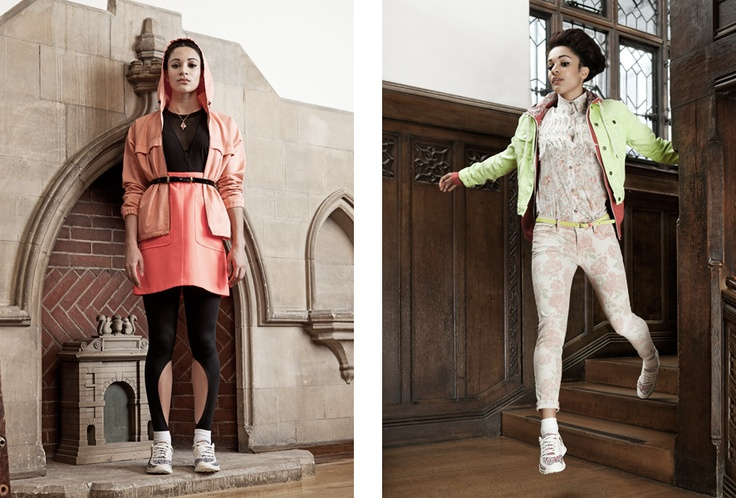 Nike Liberty Campaign with Jodie Williams. Photo by Neil Bedford.