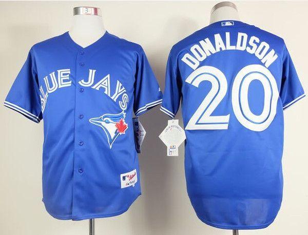 20 Josh Donaldson Jersey Wholesale Cheap Baseball Jerseys Toronto Blue Jays Home Road White Red Blue Jersey