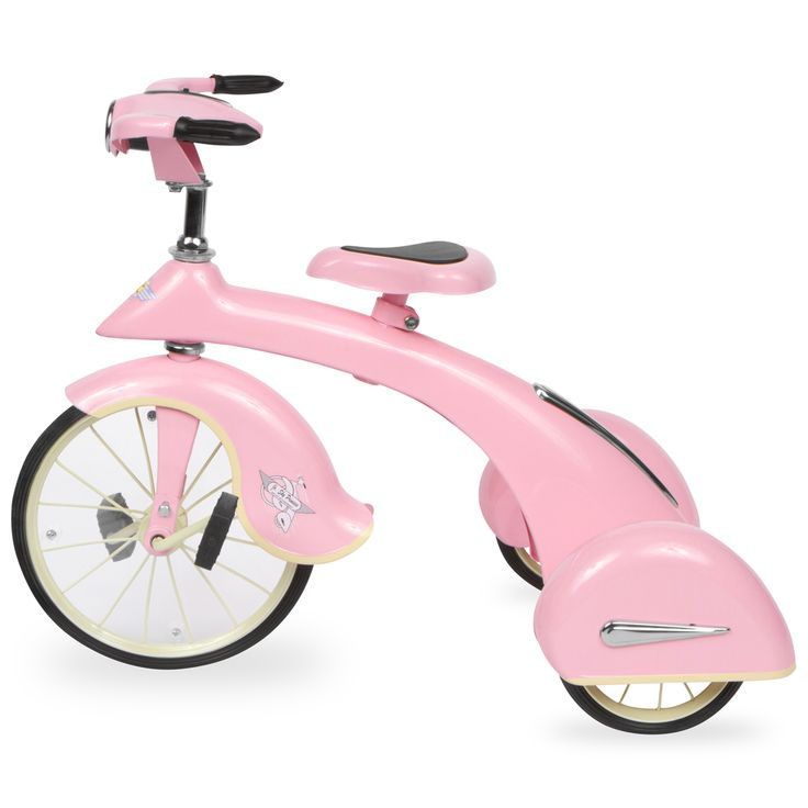 Pink Sky King Junior Trikes by Airflow Collectibles Inc http://www.jackstoystore.com/bicycles/pink-sky-king-junior-trikes