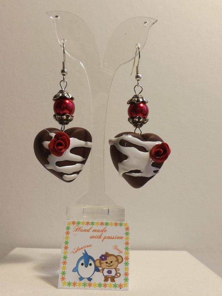 #fimo #handmade #heart #love #chocolate #diy
