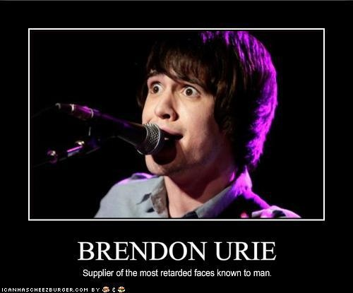 Brendon Urie.. Panic, At the Disco. they're also the prettiest- --- THERE'S ALSO DEAN WINCHESTER WITH HIS AMAZING FACIAL EXPRESSIONS