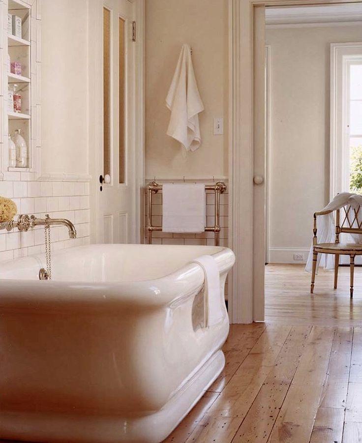Ceramic Tub And Towel Warmer Choose The Bathroom In 2019