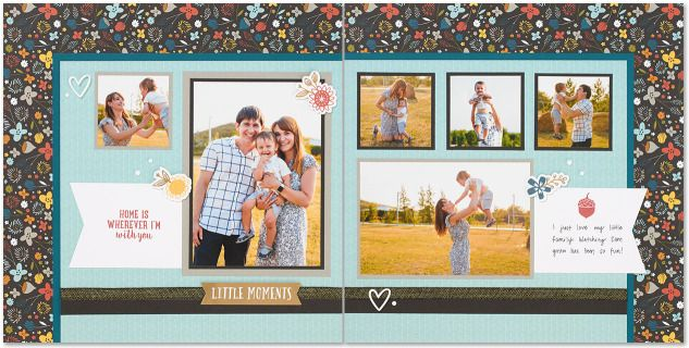Double Page Layout 6 Photos