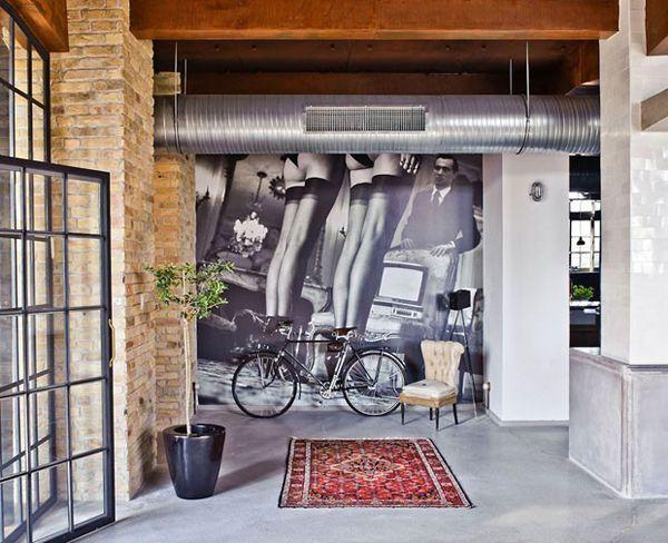 Die besten 25+ Industriller schicker stil Ideen auf Pinterest - industrieller schick design dachwohnung