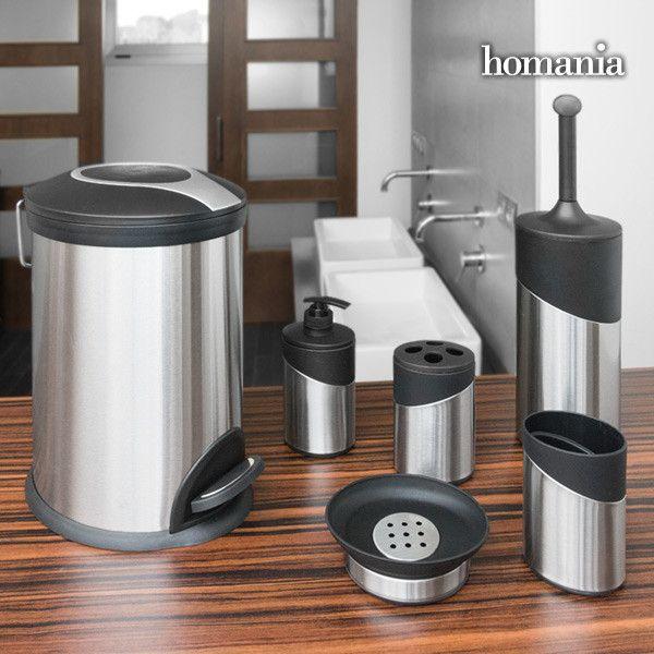 Inox Homania Bathroom Accessories 6 Pieces Inox Homania