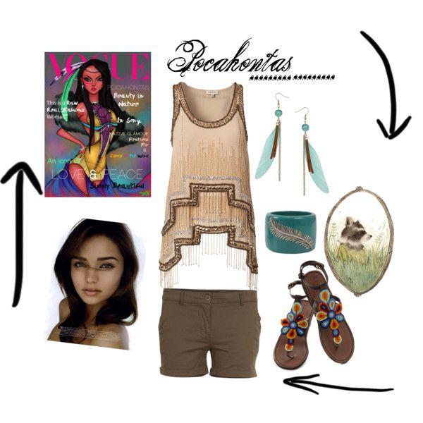 """Pocahontas Disney Princess"" by Ashley B"