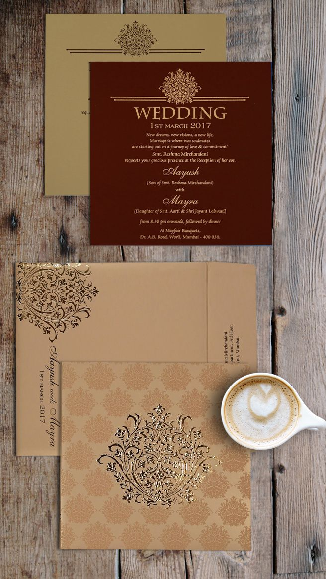 muslim wedding invitations mumbai%0A Enchant your guests with your romantic and     beautiful wedding and our  capricious invitation is enough