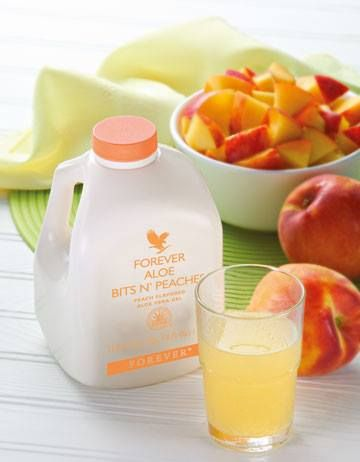 Pure nutritious pieces of aloe vera bathed in the flavour of sun-ripened peaches. This is a natural and fruity drink, ideal for all of the family.  https://www.foreverliving.com/retail/shop/shopping.do?itemCode=077&task=viewProductDetail