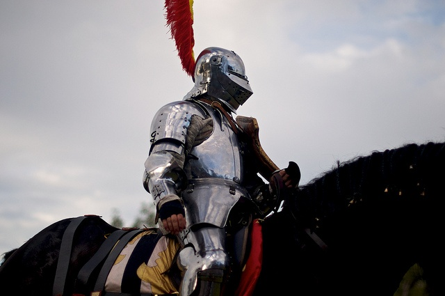 The Jousting at the Abbey Medieval Festival and Abbey Medieval Tournament is a major drawcard