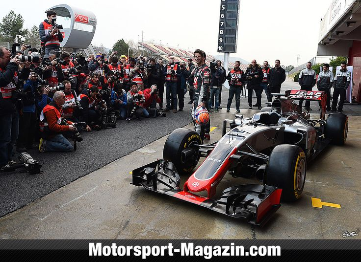 Formel 1 2016, Präsentationen, Romain Grosjean, Haas F1 Team, Bild: Sutton