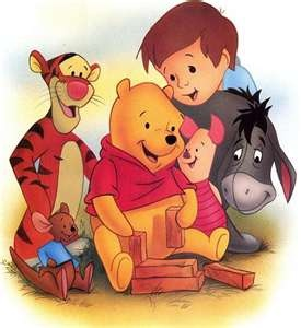 *WINNIE THE POOH, TIGGER, PIGLET & EEYORE...what about Roo and Christopher Robin...