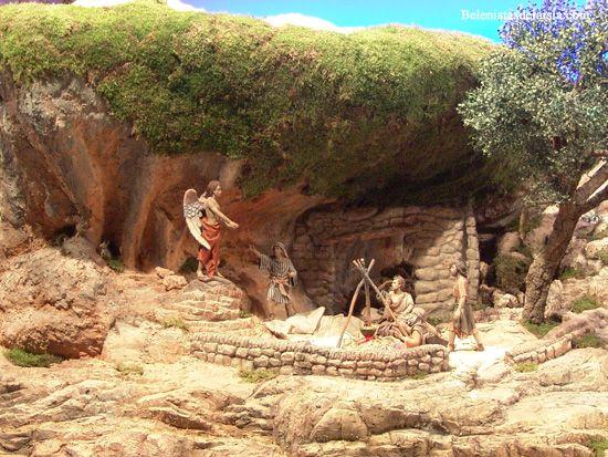 belenistas de la Isla. Fotos