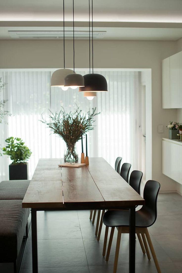 Pin Von Olga Dinnikova Auf Hofhaus In 2020 Esszimmer Beleuchtung Esstisch Beleuchtung Speisezimmereinrichtung