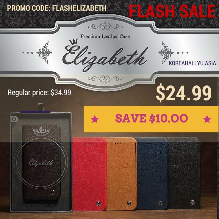FLASH SALE | Elizabeth Genuine Calf Leather Case
