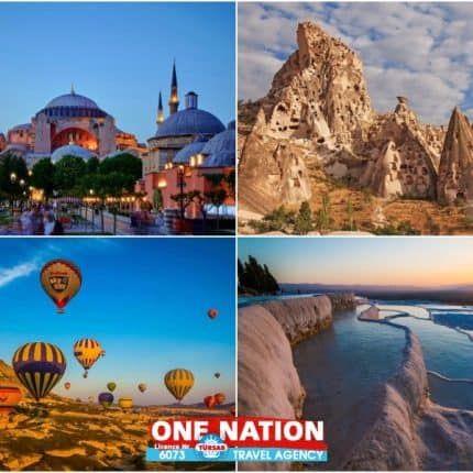 6 Days Istanbul, Cappadocia and Pamukkale Budget Tour by Bus