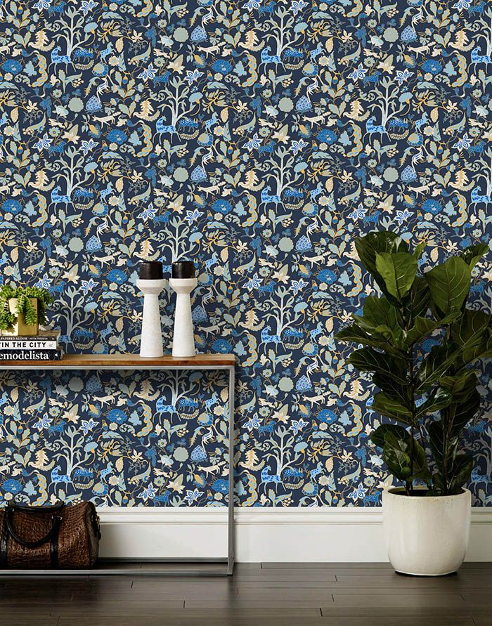 New: Julia Rothman Wallpaper for Hygge & West | Design*Sponge