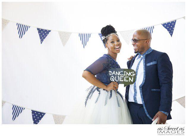 Katlego and Lebogang Fun Wedding Photo Booth